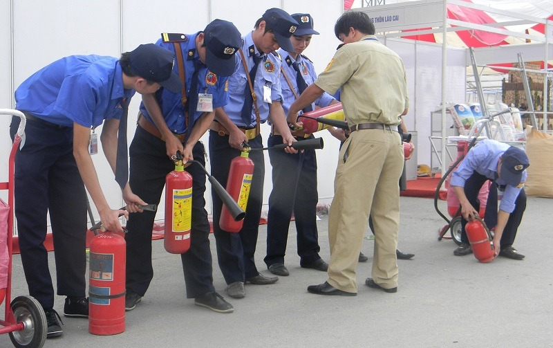 Nhiệm Vụ Của Người Bảo Vệ Trong Công Tác Phòng Cháy Chữa Cháy